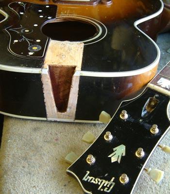 Gibson SJ200 neck reset