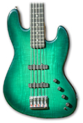 35 inch scale (extra long) 5 string Jazz style bass