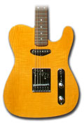 Quilted maple telecaster