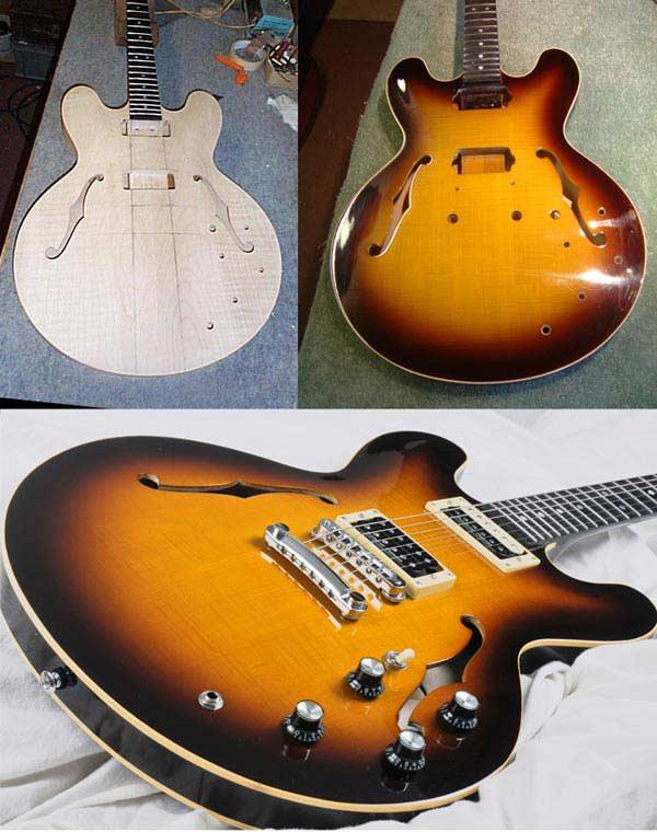 335-style thinline semi acoustic