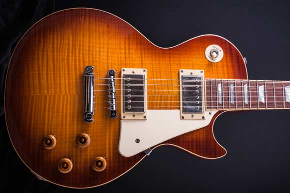 LP-style solid body