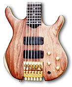 6 string headless bass