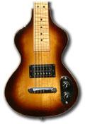 Lap-steel guitar