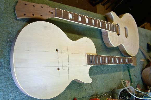 Les Paul style build