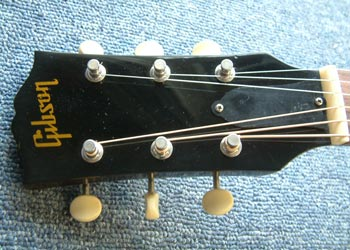 Les Paul headstock repair