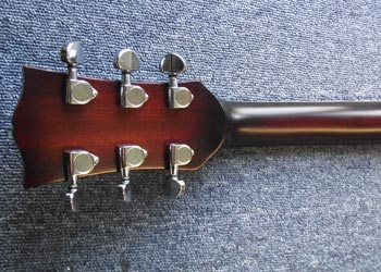 Shaftesbury Les Paul new headstock