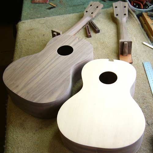 Ukelele construction